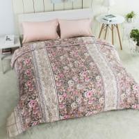 bed cover bunga-bunga cantik