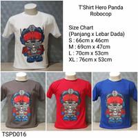 Jual Promo (TSPD016) Kaos/T'Shirt Distro Hero Panda
