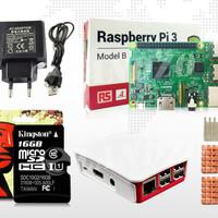 Jual Raspberry Rasberi Rasberry Rasberri PI 3 model B + Adaptor 2.5A Murah