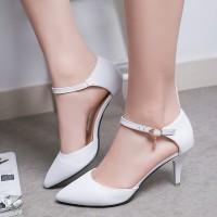 harga High Heels Wanita Gelang / Heels Pesta Adl - Dy Putih Tokopedia.com