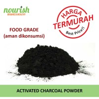 Activated Charcoal Powder (Bubuk Arang Aktif) 150 g