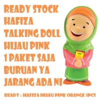 Jual HAFIZA TALKING DOLL HIJAU READY STOCK - boneka hafiz Mengaji Murah