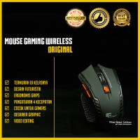 Mouse Wireless Gaming FanTech W4 6D FTM - W529
