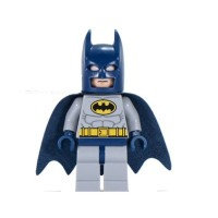 LEGO Minifigure Batman Blue Suit + Hardwing