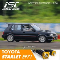 ISC Coilover TOYOTA STARLET EP