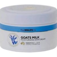 Australia Goats Milk Moisturising Skin Cream - Pelembab Kulit Import
