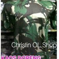 Kaos Doreng Pahlawan Polos Tangan Pendek ( Dewasa)