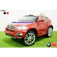 Mobil Mainan Aki & Remot Junior JJ258 BMW X6 SUV-Lisensi
