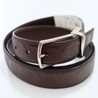 Coach F55158 Modern Harness Cut To Size Riversible Signature Belt