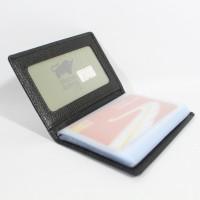 Jual BRAUN BUFFEL CC02 BLACK - CARD HOLDER DOMPET KARTU KULIT ASLI Murah