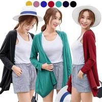 Minibel Shawl Cardigan/Baju Allsize Kardigan Cewe Polos/Basic Cardi