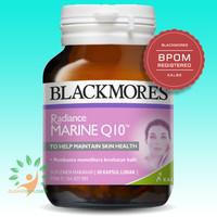 BLACKMORES Radiance Marine Q10 - 30 Kapsul - KALBE - BPOM