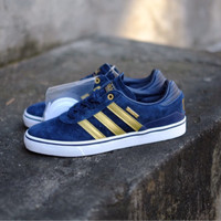 Adidas Skateboarding Busenitz Vulc Adv 10 Year Anniversary Navy/Gold