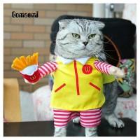 Baju Kucing McD Delivery