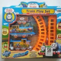 Mainan Kereta Api baterai rel Thomas MURAH