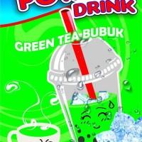 Jual Paket bubuk minuman green tea / green tea latte & thai tea (@ 1kg) Murah