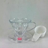 Jual Hario V60 Coffee Dripper 01 Transparent VD-01T Murah