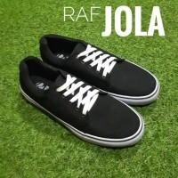 Jual Sepatu sneaker murah RAF Foot JOLA - Hitam Murah