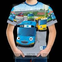 Kaos Anak Little Bus Tayo (Hai Tayo) 3