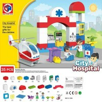Jual LEGO DUPLO Doctor City Hospital 35pcs Baby blocks PASTI MURAH Murah