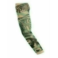 Manset tatto tato motif salib jesus yesus arm sleeve sarung tangan