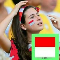 Jual Stiker Pipi Merah Putih Bendera Indonesia Murah