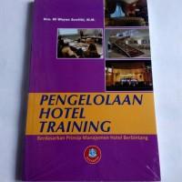 PENGELOLAAN HOTEL TRAINING