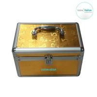 Beauty case kosmetik 6201 - small yellow 1
