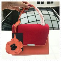 Tas ZARA MINI CITY BAG PENDANT ORIGINAL Orange