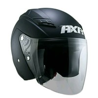Helm AXR hallf face matte black dove