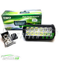 Jual Lampu Tembak Sorot LED Bar CREE Motor 12 Titik Mata Dua Susun Murah