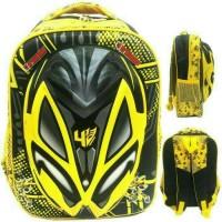 Jual  PROMO Tas Sekolah Anak SD Transformer Bumblebee 3D Hard Cover ,Murah  Murah