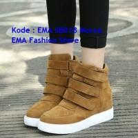 Sepatu Boots Elegan untuk Anak Muda Kode EMA SB018 Tan