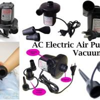 Electric Vacuum Pompa Listrik kasur angin sofa tiup vacum bag gym ball