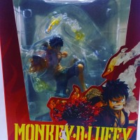 Monkey D Luffy One Piece Batte Ver PVC