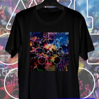 Kaos coldplay paradise album myloxyloto, kaos distro,kaos band t shirt
