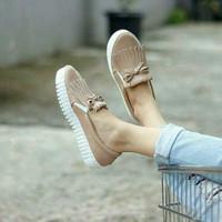 Jual Promo SEPATU SLIP ON WANITA KEKINIAN TASSEL YALE MOCCA ( Sepatu Sandal Murah