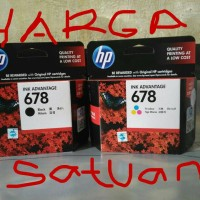 Tinta Printer Ink Hp 678 Cartridge 1015, 1515, 1518,