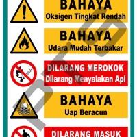 POSTER BAHAYA DILARANG MEROKOK ISM CODE IMO PELAYARAN INDONESIA
