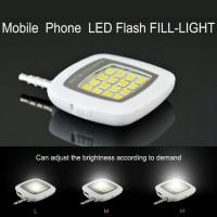 Jual Smartphone Led Flash & Fill-Light | Lampu Selfie Murah