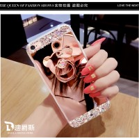 Case Samsung Galaxy Grand Prime G530 Luxury Mirror Diamond Softcase Hp