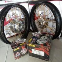 harga Sepaket Velg Lebar Tromol Set Vnd Jari2 Tiger Revo / Tiger Revolution Tokopedia.com