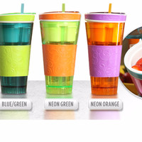 Jual Snackeez 2 in 1 Tumbler ~ All In One Snack Cup ~ As Seen On TV Murah