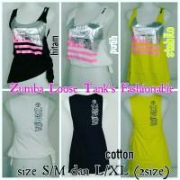 Jual Zumba Loose Tank's Fashionable Murah