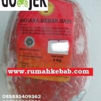 KHUSUS GOJEK -GO KILAT - 2 KG - Daging Kebab Tanpa Tiang Merk Sahara