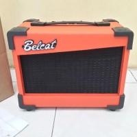 Jual Ampli gitar belcat 15G efek distorsi new Murah