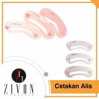 [PROMO] 1 SET Cetakan Alis Mini Brow Class ZIVON PF1 thumbnail