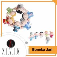 Jual Boneka Jari Karakter Seri Keluarga (Family Finger Puppet) SK3 Murah