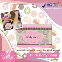 Jual SABUN PEMUTIH BODY SOAP BY JELLYS THAILAND ASLI ORIGINAL 100% Murah