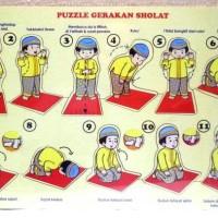 Puzzle Edukasi Gerakan Sholat